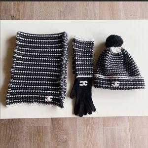 Chanel winter set.